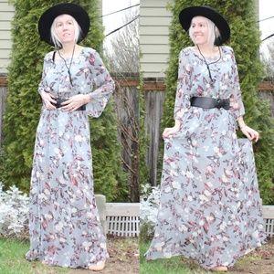 Jack by BB Dakota Floral Flowy Bohemian Dress